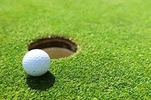 Werbemittel Golfclub
