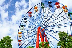 Werbemittel Freizeitpark