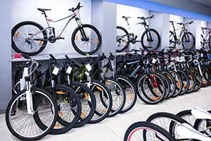 Werbemittel Fahrradgeschäft