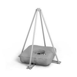 Kreuzfuß mit Schlauchgewicht für T-Pole®