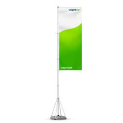 Mobiler Fahnenmast T-Pole® 200