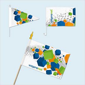Kleinflaggen gestalten & online bestellen