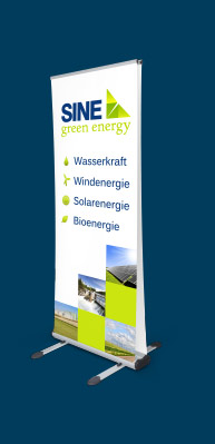 Roll Up Displays gestalten