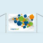 Banner mit Spannpfosten-Set