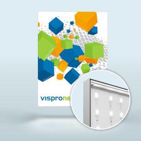 Leuchtkasten Q-Frame® LED, Profil 50 mm