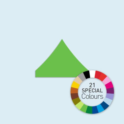 Zeltdach für Faltzelte Basic & Select 4 x 4 m, in 21 Sonderfarben erhältlich