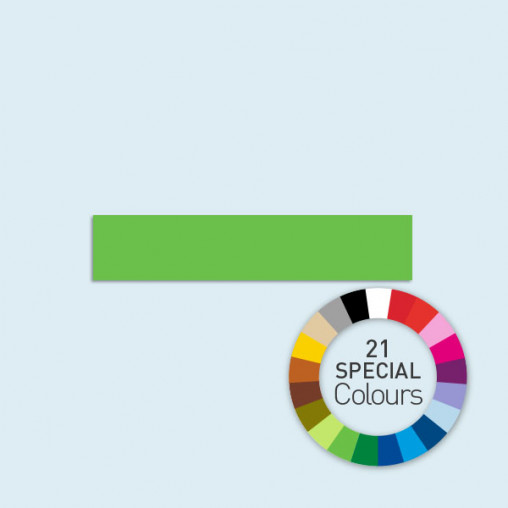 halbhohe Wand 450 x 95 cm Basic/Select, in 21 Sonderfarben erhältlich