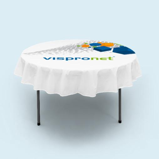Tischdecken für Klapptisch rund
