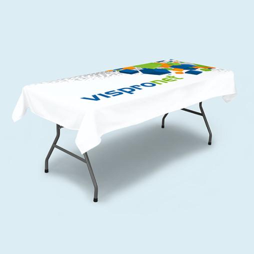 Tischdecken kurz für Klapptisch rechteckig