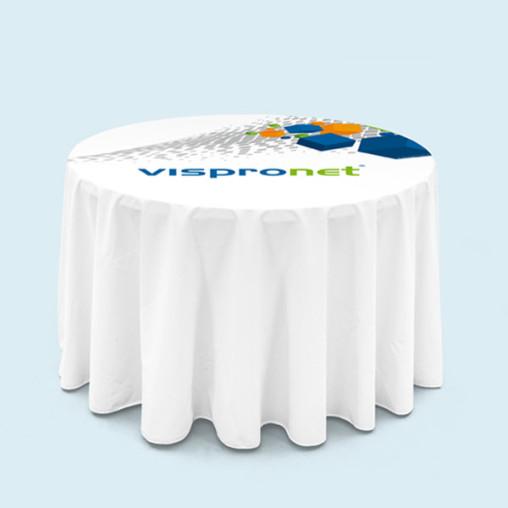 Tischdecken bodenlang für Klapptisch rund