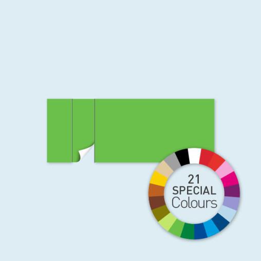 Wand mit 1 Tür links 600 x 220 cm Select, in 21 Sonderfarben erhältlich