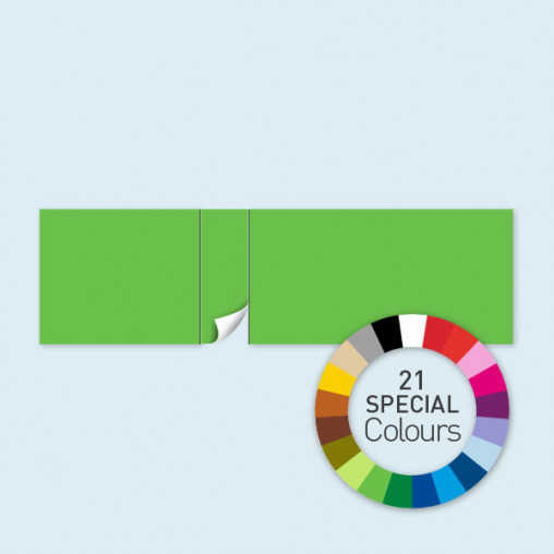 Wand mit 1 Tür linksseitig 800 x 220 cm Select, in 21 Sonderfarben erhältlich