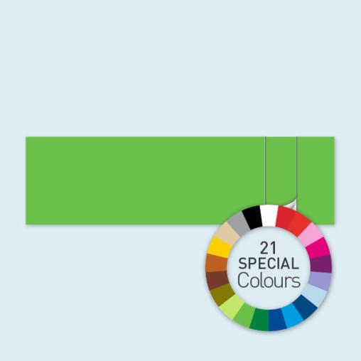 Wand mit 1 Tür rechts 800 x 220 cm Select, in 21 Sonderfarben erhältlich