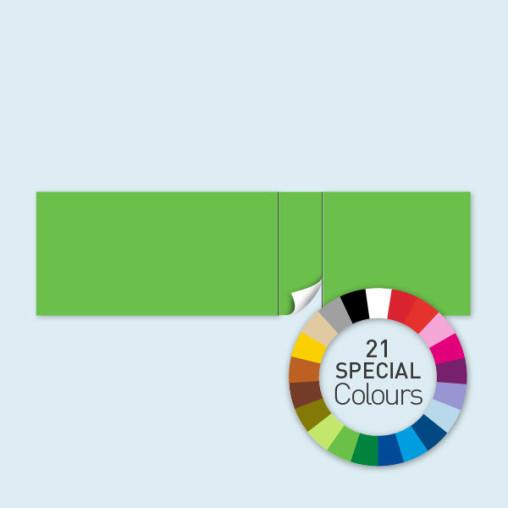 Wand mit 1 Tür rechtsseitig 800 x 220 cm Select, in 21 Sonderfarben erhältlich