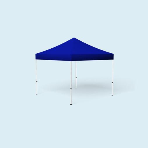 Faltpavillon Eco, 3 x 3 m, blau