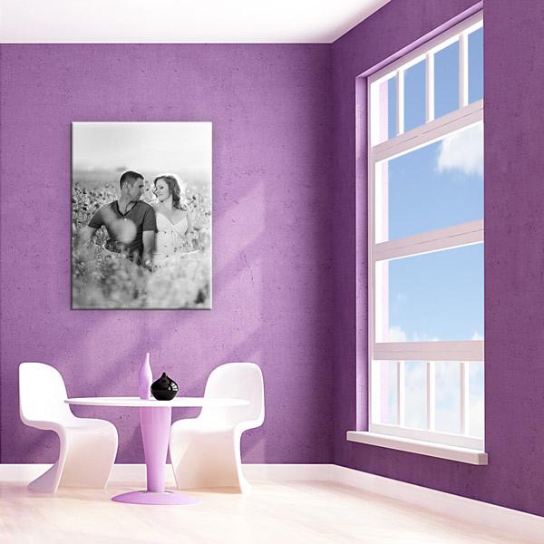 foto als posterleinwand im hochformat 3 4 selbst gestalten. Black Bedroom Furniture Sets. Home Design Ideas