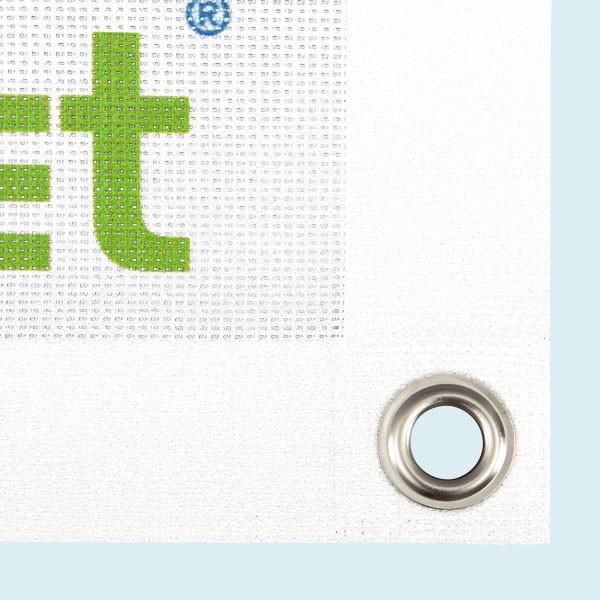 Quadratische Mesh-Banner im eigenen Design online drucken
