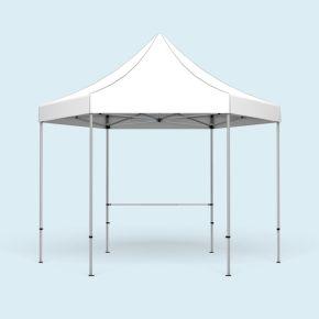 Querstange + Halter, Länge 2 m (für Zelt 4 m)