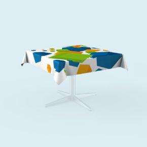 Tischdecken für quadratische Tische