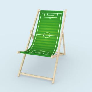 Liegestuhl ohne Armlehne - Fussballplatz