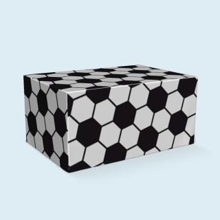 Palettenhusse, 4 Paletten, 120x 80 x 58 cm - Fussball